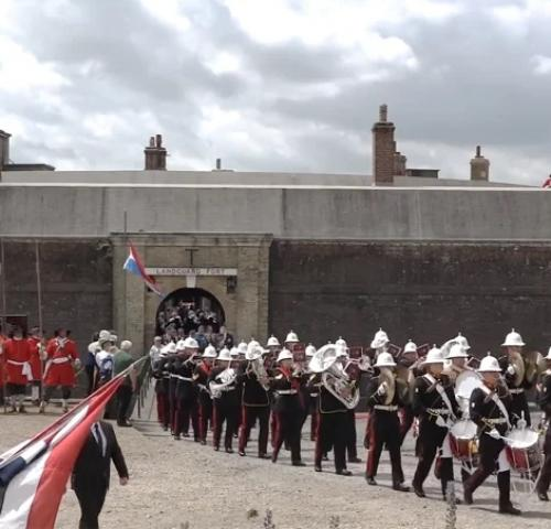 Landguard Fort - Armed Forces Weekend